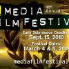 Media Film Festival Early Submission Deadline September 15th