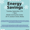 Transition Town presents: A Few Steps to Winter Energy Savings September 27th, 7:00 PM
