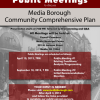 Public Meeting: Contribute to Media's Comprehensive Plan
