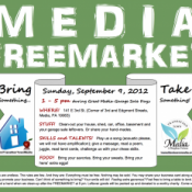 Media FreeMarket Event, September 9th, 1-5 PM