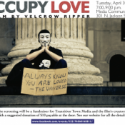 Event: Occupy Love Film, Tuesday April 30th, 7PM Media Community Center