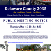 Delaware County Planning presenting Draft County Comprehensive Plan May 16, 2013