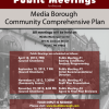 Media Comprehensive Plan Public Meeting: Draft Plan Recommendations