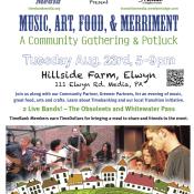 Transition Town Media hosts Harvest Festival at Hillside Farm, Elwyn on August 23rd