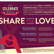Celebrate Media 2011 supports local non-profits: Tickets available now