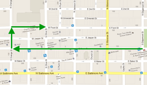 Media Veterans Day 2011 Parade Route