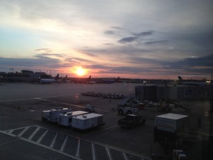 Philadelphia Airport at Dawn