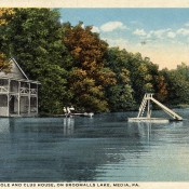 Broomall's Lake circa 1925