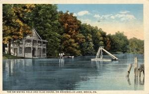 Broomall's Lake circa 1925