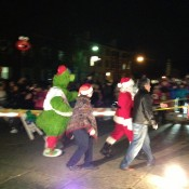 Media, PA: Santa arrives in 2012