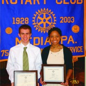 RELEASE – Rotary Club of Media honors Outstanding Students