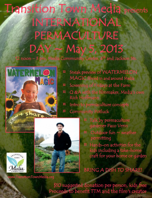 Flyer for TTM International Permaculture Event