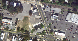 Site for the new Wawa (click to enlarge)