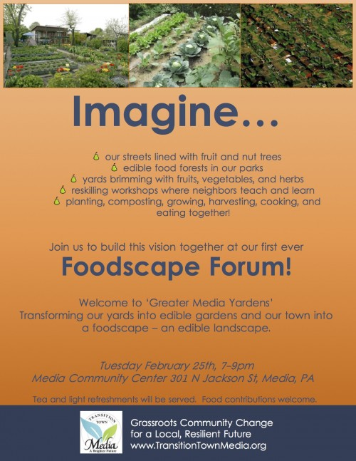 2014-02-25 Foodscape Forum