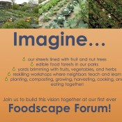Foodscape Forum Hosted by Transition Town Media's Food Group