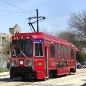 Trolley service restored today