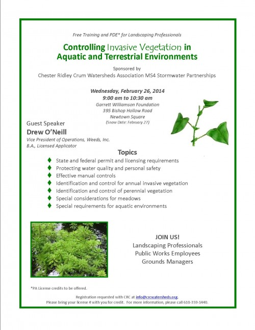 controlling vegetation drew oneill