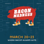 Iron Hill Brewery & Restaurant Announces 1st Bacon Madness Tourney