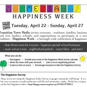 Happiness Week in Media